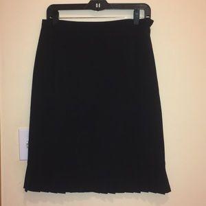 Rafaella Black Modern Fit Skirt